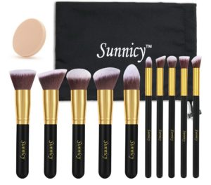 sunnicy_pinceaux_fond_teint_maquillage